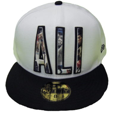 Muhamed Ali Collection New Era/ Ali Sub-Roidery Cap Color: White