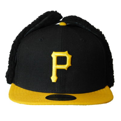 New Era 59 Fifty / Big Print Pittsburgh Pirates / Dog Ear Cap / Color: Team