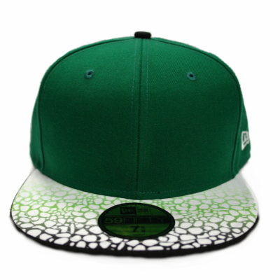 New Era 59 Fifty Gravel Grade Fitted Cap / Color: Kelly Green