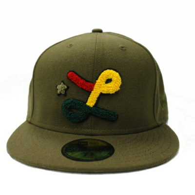 LRG New Era 59Fifty Fitted Cap / Color: Olive Brown