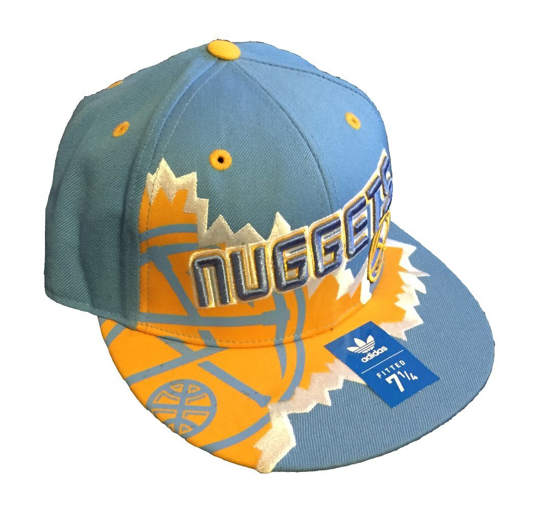 cheap for discount 737bd 6c93c Denver Nuggets Adidas Fitted Cap   Color  Team