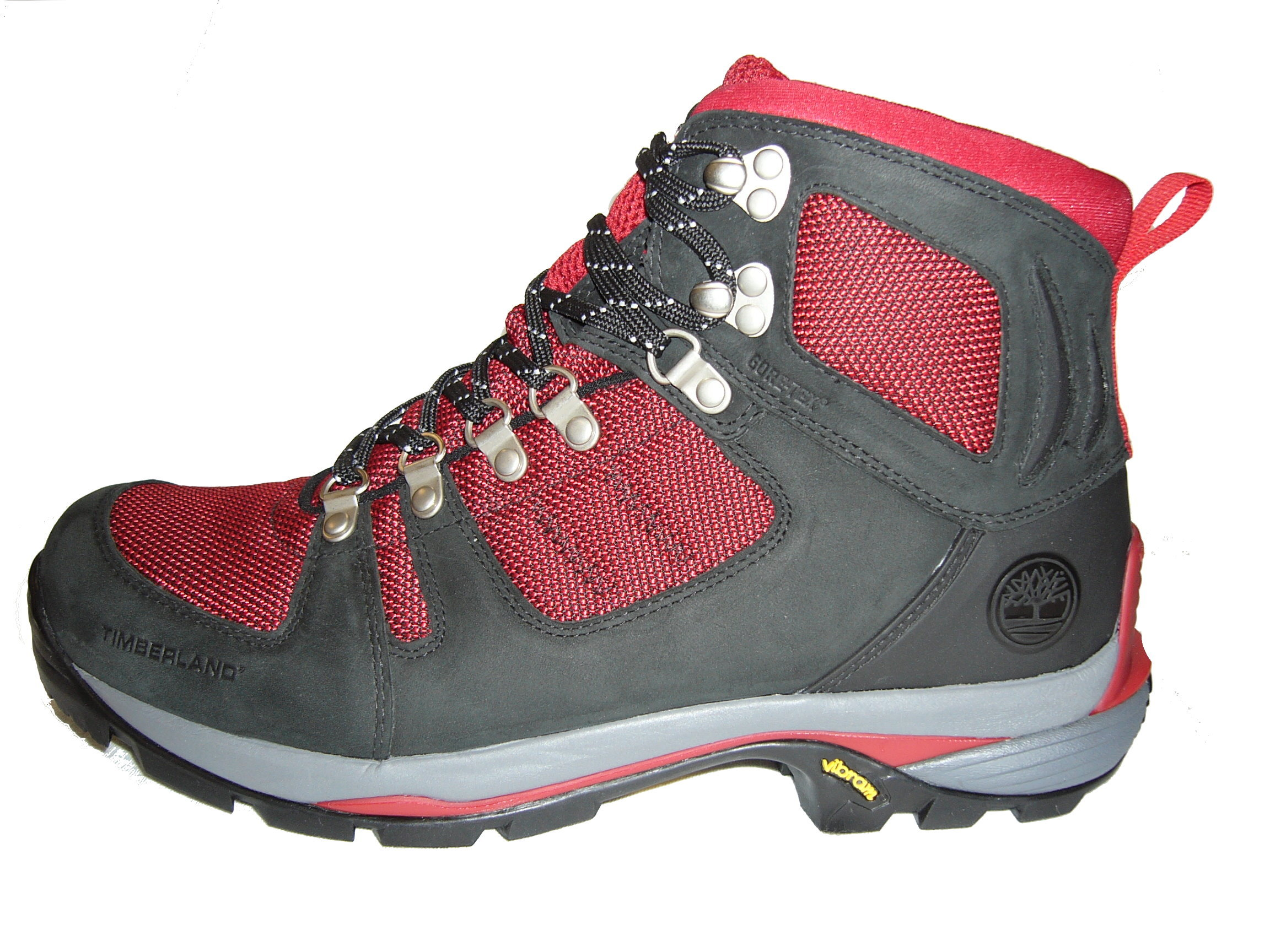4e02ce1a1c35 Timberland Cadion Hiker   COLOR  BLACK RED   90159 - Scotteez Urban