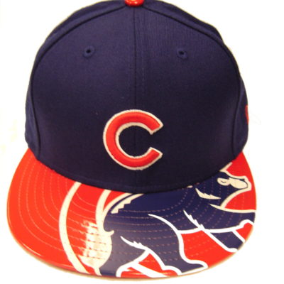 Visor Shine Chicago Cubs