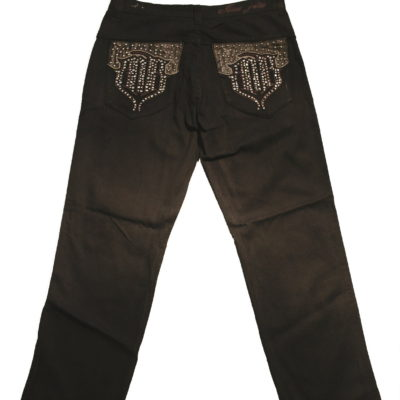 Pelle Pelle MB Studded Pocket Jean / Color: Oil Slick