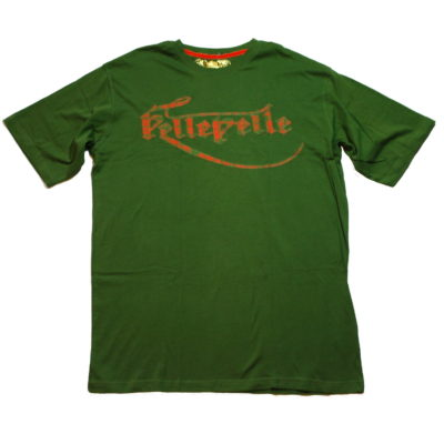 Pelle Pelle Patch Logo Tee / Color: Olive Flame Orange / #50GK1