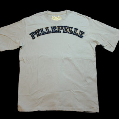 Pelle Pelle Logo Patch Tee / Color: Wheatfeild Navy Gold