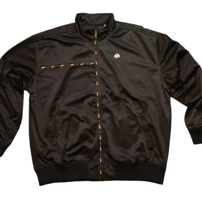 Pelle Pelle Zip Up Track Jacket / Color: Espresso