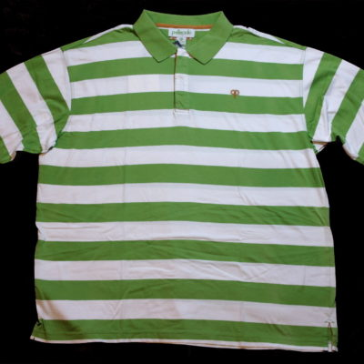 Pelle Pelle Stripe Polo Shirt / Color: Pistachio / #50FK2