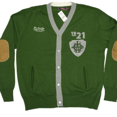 Akoo Cardigan Sweater / Rifle Green