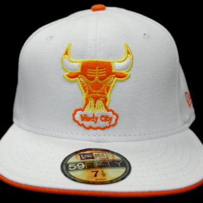 New Era / Chi Bulls / White, Orange, Yellow