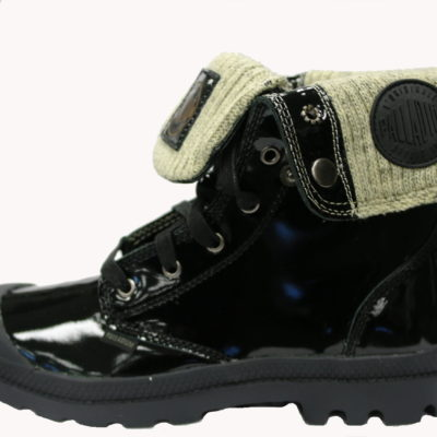 Palladium Boot / Baggy Leather Knit / Midnight Green