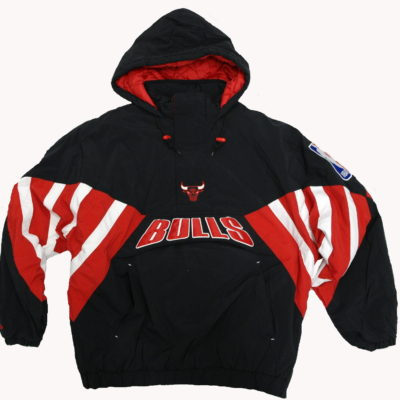 Mitchell & Ness Throwback Chicago Bulls Pullover Jacket