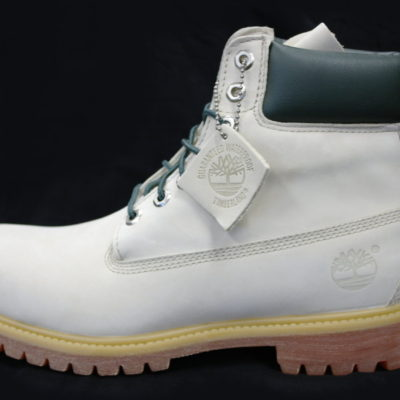 "6"" Premium Timberland Boot / Color: Cream Cement / Green"
