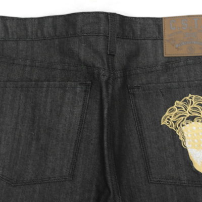 Crooks & Castles Medusa Jean / Raw Black / C1190402