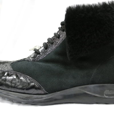 Mauri Shearling Lined Boot / Black