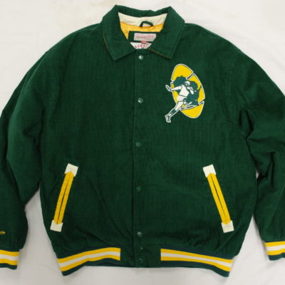 Mitchell & Ness Green Bay Packers Cutback Corduroy Jacket