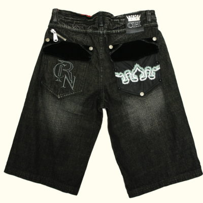 Crown Holder Shorts RY50735SH Color Black Wash Sicko