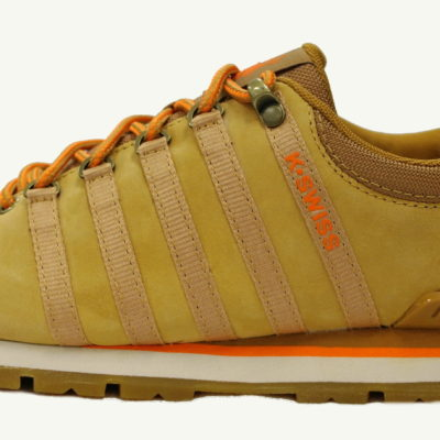 K-Swiss Classic Hiker Low / Color: bone brown vibrant orange