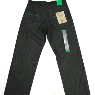 LRG Kilometer C47 Jean / Color: Raw Black Green