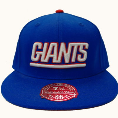 Mitchell & Ness Giants Fitted Cap