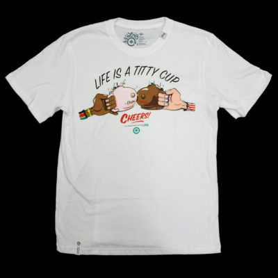 LRG Life Is A Titty Cup Tee / Color: White