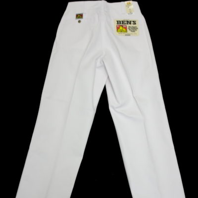 BEN DAVIS Original Pant Classic 50/50 Blend / Color:White