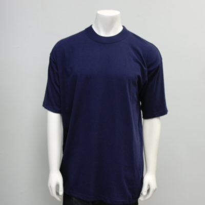 Gemrock Plain Tee Color: Navy Blue