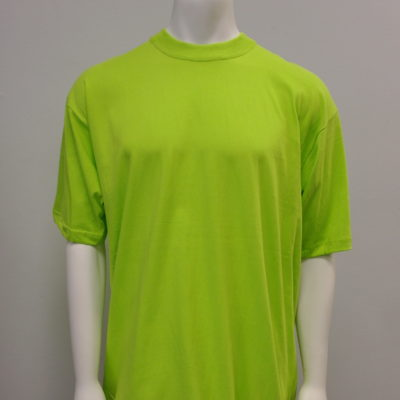 Gemrock Plain Tee Color: Lime Green