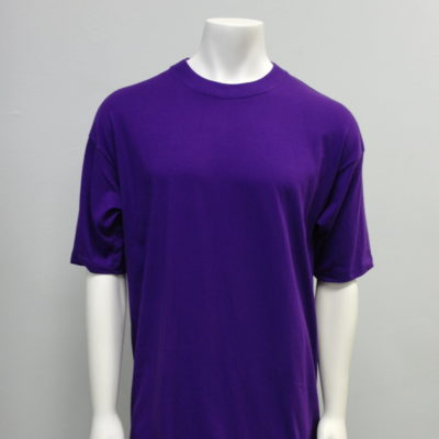 Gemrock Plain Tee Color: Purple