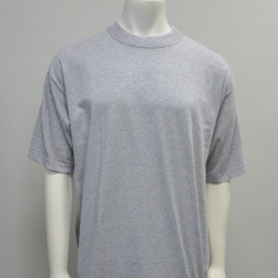 Gemrock Plain Tee Color: Heather Grey