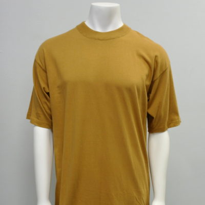Gemrock Plain Tee Color: Timber / 100{c4ae88d569b09b40227cc1fe870a022cebf5f1a11288888901ac9ea6adb60a06} Cotton / Made in Pakistan