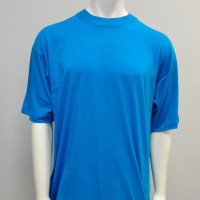 Gemrock Plain Tee Color: Aqua Blue