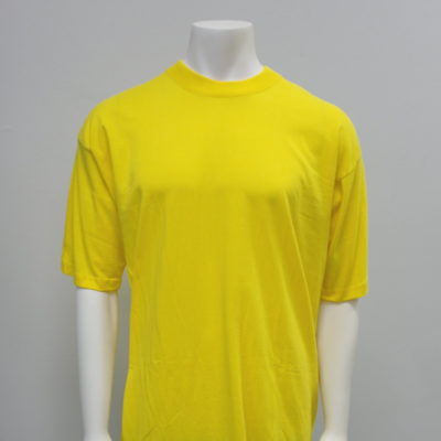 Gemrock Plain Tee Color: Yellow