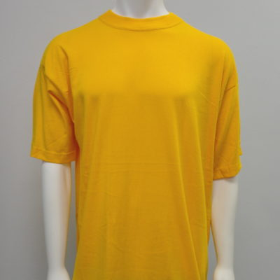Gemrock Plain Tee Color: Gold