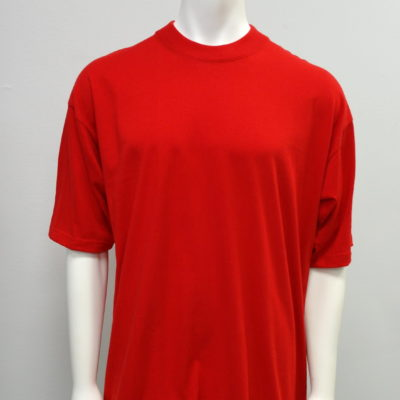 Gemrock Plain Tee Color: Red