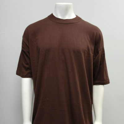 Gemrock Plain Tee Color: Brown