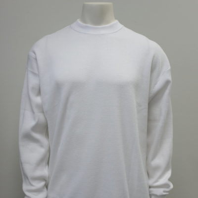 Gemrock Plain Long Sleeve Heavy Weight Thermo / Color: White