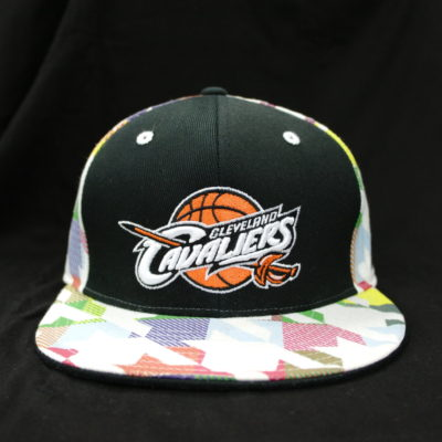 26e4c22c5c7 Adidas NBA Clevland Cavaliers Multi Color Fitted Cap   Color  Multi