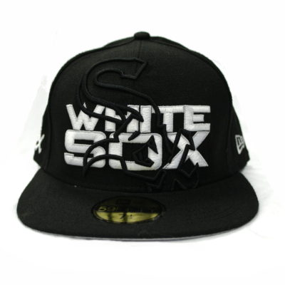 New Era 59 Fifty Chicago White Sox Big See Through Fitted Cap / Color: Black