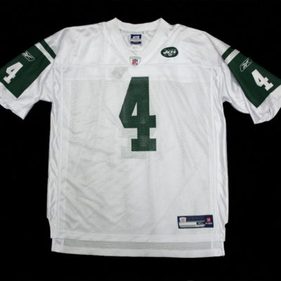 Brett Favre / New York Jets Replica Jersey / Reebok NFL / Color: White