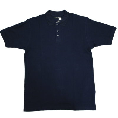 Plain Polo Shirt /  Color: Navy