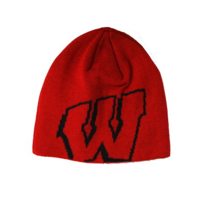 Wisconsin Badgers Knit Beanie / Color: Team