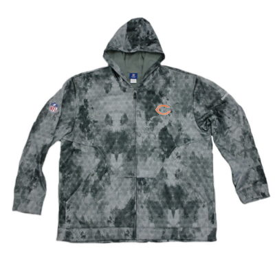Chicago Bears Sideline United Hoodie Reebok / Color: Grey