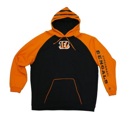 Bengals Helmet Hoody Reebok / Color: Team