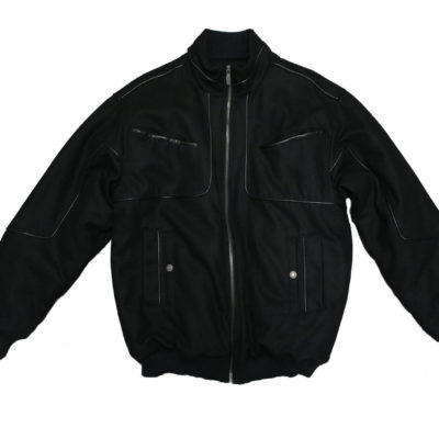 Pelle Pelle Wool Jacket 81RM3 / Color: Black