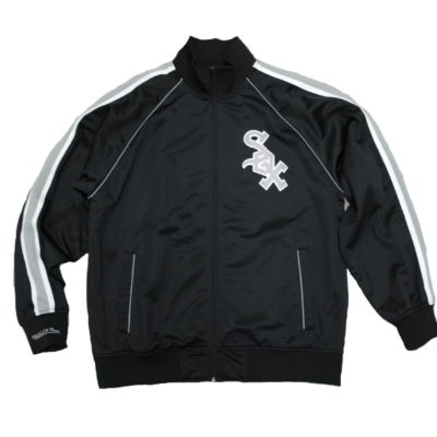 Mitchell & Ness Chicago White Sox MLB Final Score Zip up Track Jacket / Color: Team