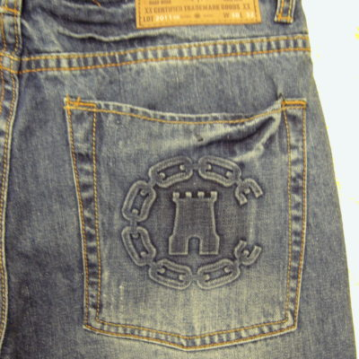 Crooks & Castles Woven Torrance Denim Jean