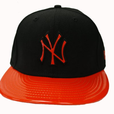 New Era / See Through / NY Yankees / Color: Black, Orange