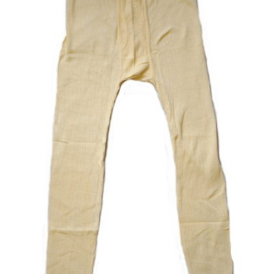 Thermal Underwear Pant / Color: Natural / United U.S.A. Brand