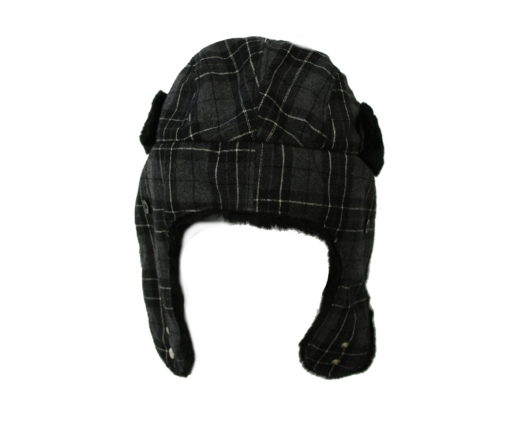 New Era EK Trapper / Color: Gray Plaid